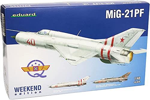 エデュアルド 1/48 MiG-21PF ウィークエンド プラモデル