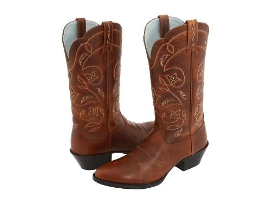 ピル民族主義数学Ariat(アリアト) レディース 女性用 シューズ 靴 ブーツ ウエスタンブーツ Western Heritage - Russet Rebel [並行輸入品]