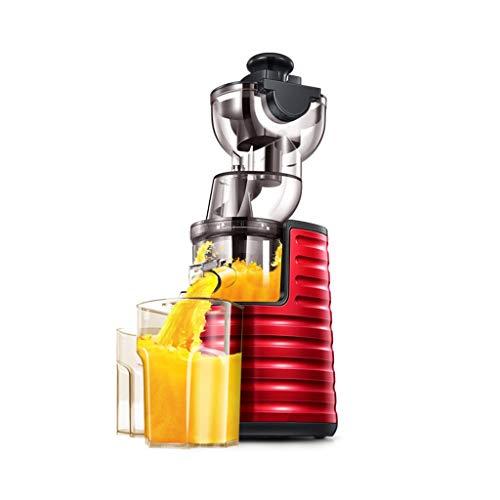 QQB & Máquina exprimidora Lenta, licuadora de Frutas y Verduras con Motor silencioso de Doble Etapa y función inversa, exprimidor en frío Mezclador de Acero Inoxidable