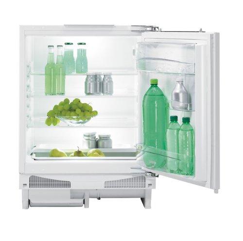 Gorenje RIU6092AW Einbau-Kühlschrank / A++ / 93 kWh/Jahr / 143 L Kühlteil / selbstschließendes Festtürscharnier rechts, wechselbar / Abtauvollautomatik / weiß