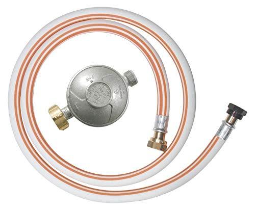 Ribitech - dg170tv810/b - Kit tuyau flexible butane avec 1 détendeur, 1 tétine et 1 tuyau flexible 1m50