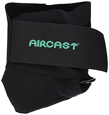 Aircast AirHeel Ankle Support Brace Without Stabilizers, Large