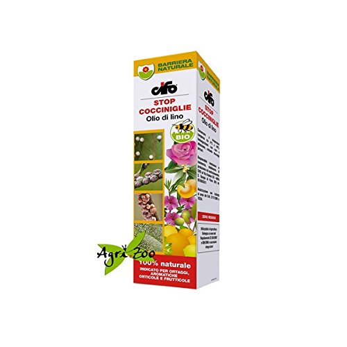Cifo Olio di Lino Bio per Cocciniglia Olio Naturale Biologico per Cocciniglia