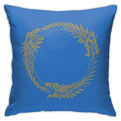 Elder Scrolls Online Merchandise Pullover Felpa con cappuccio Pilloases, Pilloases da pavimento, Pilloases, Cuscini per divani, Fodere per cuscini, Fodere per barest, Interni per cuscini per auto