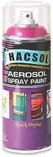 HACSOL Multi Purpose Lacquer Aerosol Paint Spray for Car/Bike- (Silver)