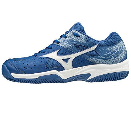 Mizuno Break Shot 2 Jr. CC Junior Tennis Schuhe Kinder Blau, Schuhe Kinder:EUR 35 I UK 3