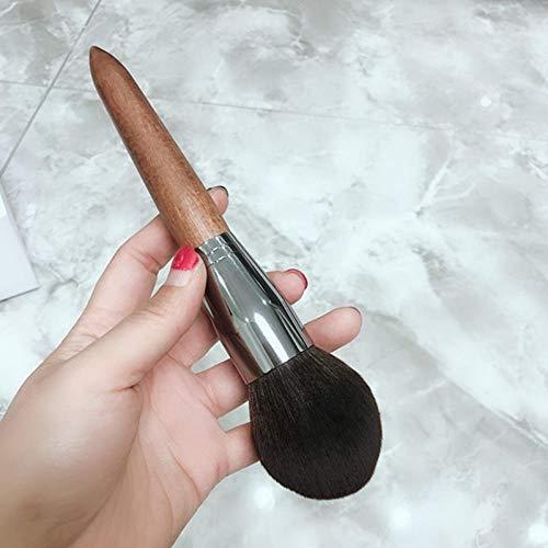 Llxhg High-end make-up kabuki-poederkwast, los/compact poeder aanbrengen, zachte en pluizige gezichtsmake-up kwast voor het mengen van rouge