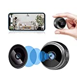 Mini Camera Wireless Hidden WiFi Cameras HD 080P Home Security Cameras ,Covert Baby Nanny Cam with Cell Phone App, Tiny Smart Camera for Indoor Outdoor Video Recorder Motion Activated Night Vision
