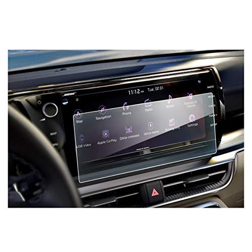XIAOZHIWEN Coche Multimedia Radio Pantalla Pantalla Protector Película Auto Interior Protección Etiqueta engomada para KIA K5 DL3 10.25 Pulgadas 2020 (Color Name : 10.25Inch)