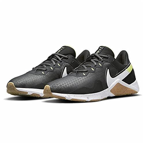 Nike Men's Legend Essential 2 Training Shoes, Black, 8 US