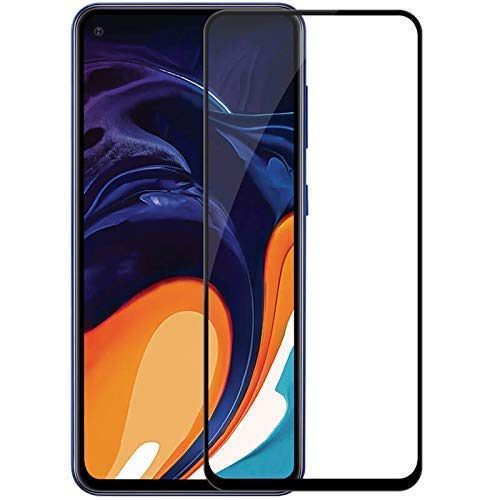ShopByShop Samsung Galaxy M40 5D Tempered Glass Full Coverage ShopByShop Pro Tempered Glass for Samsung Galaxy M40(Black)