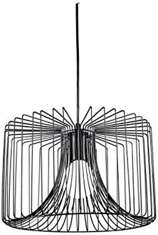 EDELMAN Salomo Lampe Lampe Lampe suspendue - Corde - schwarz - H125 x D35 cm B077ZKGSJT | In hohem Grade geschätzt und weit vertrautes herein und heraus  4a856f
