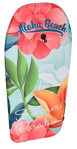 Eliware Bodyboard mit glatter Unterseite   84cm   Blumen