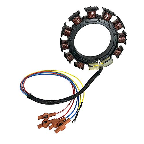 [9.15-9.23 10% OFF] JETUNIT Genuine outboard 9 amp Stator Assy Maganet Coil For Mercury 30-85hp 3&4 cylinder 398-5454 A21 A22 A24 A25 A26 174-5454K1
