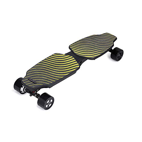 Longboard Skateboard Eléctrico Scooter Eléctrico De 4 Ruedas Control De Crucero Doble...