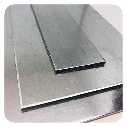 Stahlblech verzinkt von Stahlog | DX51 + Zink | WN: 1.0226 | Feinblech | Stärke: 1,5 mm | Maße: 100 x 1000 mm