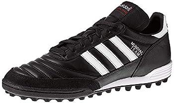 adidas Performance Men s MUNDIAL TEAM Athletic Shoe black/white/red 10 M US