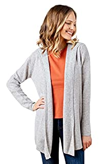 Alpine Cashmere Women's Casual Hoodie