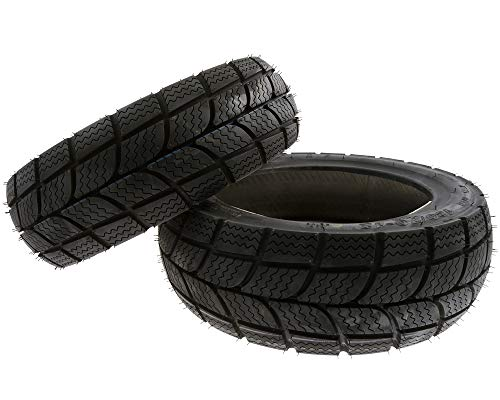 KENDA Winter Roller Reifen Set Satz für Pegasus Powersports Pulse (120/70-12 + 130/70-12)