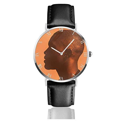 Frank Ocean Channel Orange Relojes Unisex Reloj de Moda Ultrafino