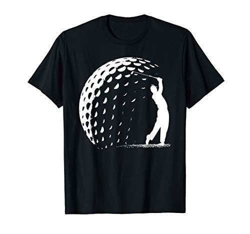 Birdie Handicap Golf Abschlag Putter Driver Platz Eisen T-Shirt