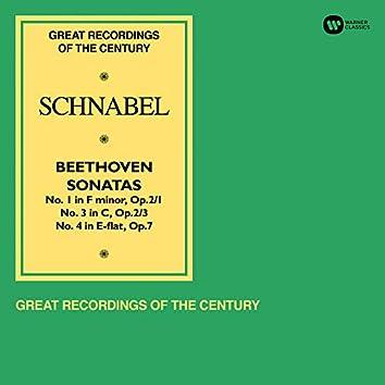 Beethoven: Piano Sonatas Nos 1, 3 & 4