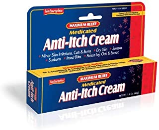 Maximum Relief Medicated Anti-Itch Cream