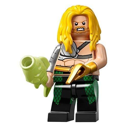 Unbekannt Lego® 71026 Minifigures Minifiguren DC Super Heroes Figur Aquaman + Sticker-und-co Bonbon