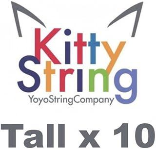 Kitty String 10 Pack Yo-Yo Strings TALL Normal (White)