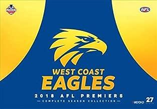 AFL Premiers 2018 West Coast Eagles Complete Season Collection