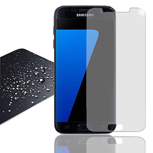 Eximmobile Panzerfolie für Samsung Z3 Echt Glasfolie (klar) für besten Bildschirmschutz Selbstklebende Bildschirmschutzfolie 9h Glasfolie rückstandslos entfernbar Schutzfolie Folie