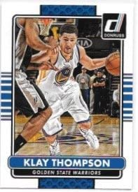 Klay Thompson 2014 15 Donruss Golden State Warriors Card 10 product image