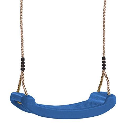 WICKEY Asiento de columpio Columpio para jardín Tableros de meza, Azul