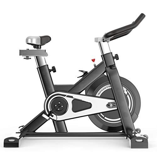Indoor Cycling Spinning Bike Home Attrezzature per Sport Indoor | Cyclette | Cyclette con Cyclette Silenziosa Regolabile con Volano 6KG, Trainer per Esercizi Aerobici
