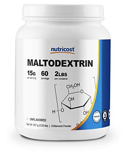 Nutricost Maltodextrin Powder 2LBS - High Quality, Pure Powder - Gluten Free, Non-GMO