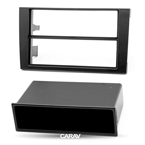 Carav 10-001 Adattatore Stereo Radio doppio Din per cruscotto con lettore DVD e attorniata-Kit di installazione autoradio