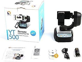 Control Remoto Motorizado Pan Tilt Head para cámara Extrema WiFi Cámara y teléfono Inteligente Moda Profesional portátil Yt-500