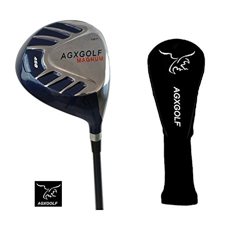 AGXGOLF Ladies Magnum 460cc Petite Length (43 inch) 10.5 Degree Driver wLady Flex Graphite Shaft with Head Cover, Made in USA!