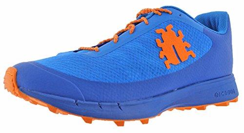 Icebug - Zapatillas Oribi M Rb9X para Trail Running, Color Azul/Naranja, 41