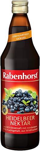 Rabenhorst Bio Heidelbeer-Nektar, 6er Pack (6 x 0.7 l)