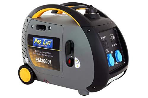 Pro-Lift-Gereedschappen Inverter Stroomgenerator 2900W Digital Generator 230V 4-takt benzinemotor stroomgenerator noodstroomaggregaat omvormer stroom 2,9kW