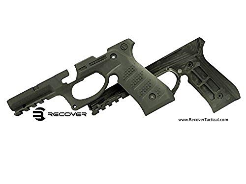 Recover Tactical BC2O BC2 Grip & Rail System, Beretta 92/M9, Olive Drab