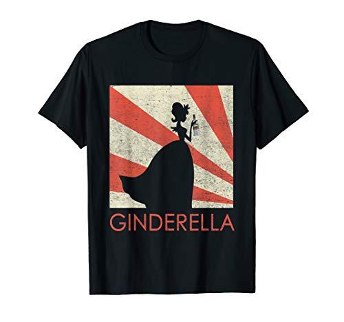 Ginderella Gin JGA Junggesellinnen Abschied Party Geschenk T-Shirt