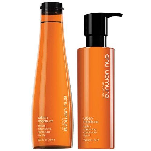 Shu Uemura Urban Moisture Shampoo zu 300 ml und Conditioner zu 250 ml, Doppelpack