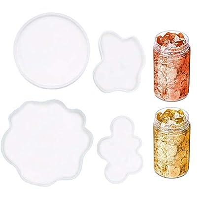 BEKVÄMT Resin Coaster Molds for Resin Casting ...