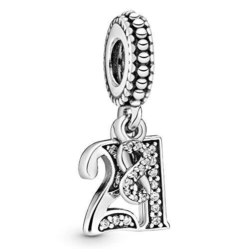 Pandora Damen-Bead Charms 925 Sterlingsilber 797263CZ