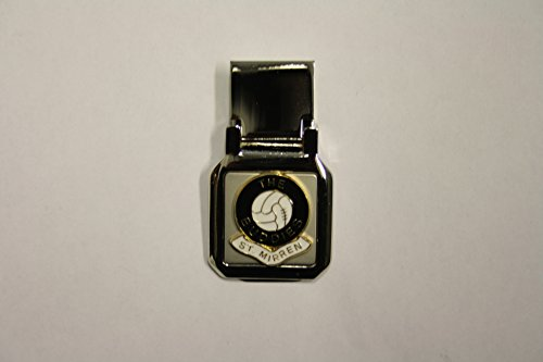 Awesome Gifts Football club money clip – St Mirren