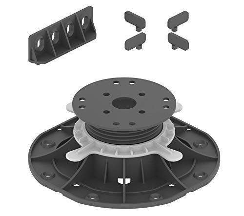 45-70mm Adjustable Pedestals Riser for Decking (Box of 25pcs)