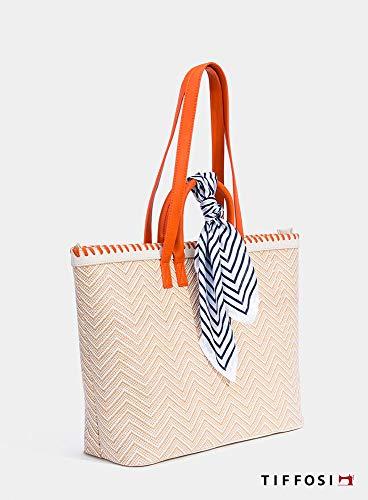 Tiffosi Woman Hand Bag Borsa Donna con Doppio Manico 38cm x 32cm x 15cm