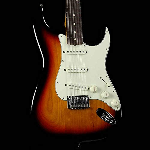 Fender FSR MIJ Traditional Stratocaster XII 12-String Electric Guitar (3-Color Sunburst)
